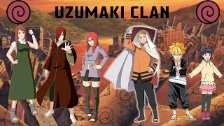 The Uzumaki Clan - All Known Members