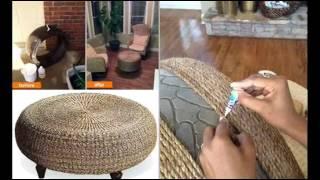 getlinkyoutube.com-Чудесная мебель для дачи своими руками   Бюджетный вариант