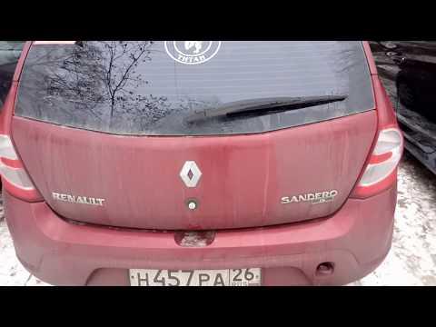 Лайфхак Renault Sandero (режим дворника задней двери)
