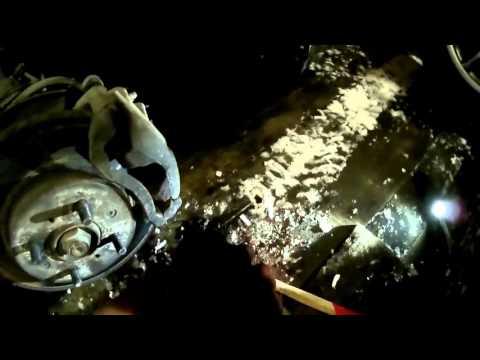 Где задние тормозные диски в Rover 400