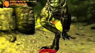 Fallout New Vegas- Pistol vs Legendary Deathclaw