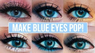 getlinkyoutube.com-5 Makeup Looks That Make Blue Eyes Pop!