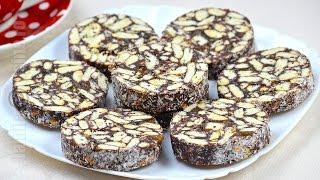 getlinkyoutube.com-Salam de biscuiti / Biscuit Salami  (CC Eng Sub) | JamilaCuisine