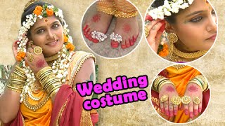 getlinkyoutube.com-Jay Malhar - Banu Showing Her Wedding Costume - On Location - Zee Marathi Serial
