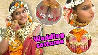 getlinkyoutube.com-Jay Malhar - Banu Showing Her Wedding Costume - On Location - Zee Marathi Serial