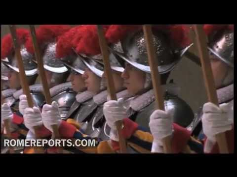 26 new members of Swiss Guard sworn in at the Vatican