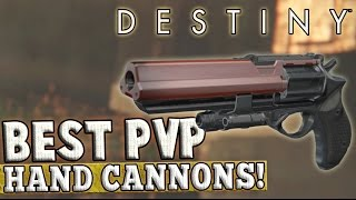 getlinkyoutube.com-Destiny | Best Hand Cannons for PvP! (The Taken King)