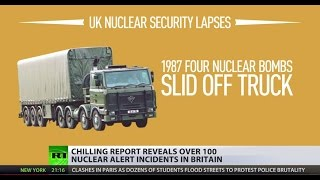 Playing with fire: Dozens of nuclear alerts underreported by British MoD, study reveals