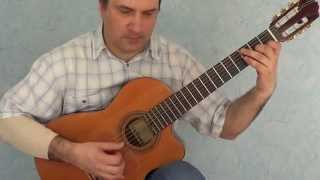 getlinkyoutube.com-Джентльмены удачи, переложение для гитары
