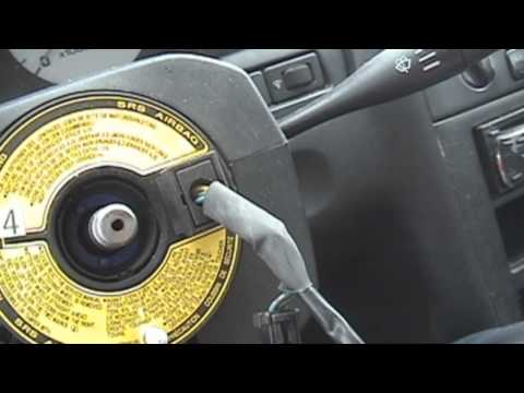 1995-1999 Nissan Maxima: Steering wheel replacement