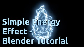 getlinkyoutube.com-Simple Energy Effect - Blender Tutorial