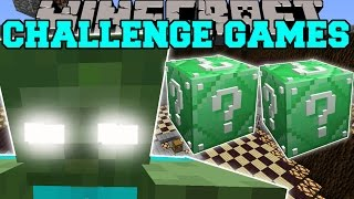 getlinkyoutube.com-Minecraft: ZOMBIE TITAN CHALLENGE GAMES - Lucky Block Mod - Modded Mini-Game