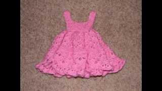 getlinkyoutube.com-Free Baby Girl Crochet Dress