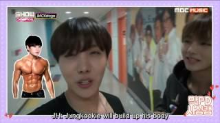 getlinkyoutube.com-[ENG SUB] 151219 BTS- Show champion backstage