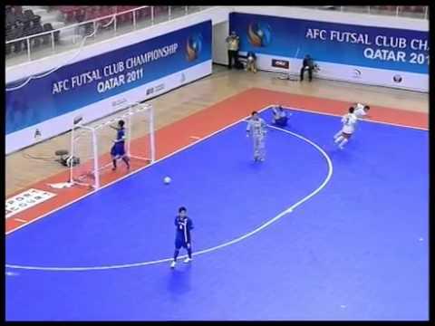 Shahid Mansouri (Iran) vs Nagoya Oceans (Japan) – AFC Futsal Club Final 2011
