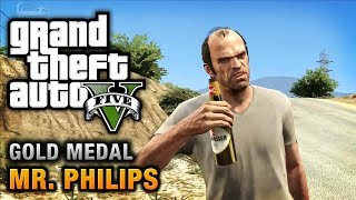 getlinkyoutube.com-GTA 5 - Mission #17 - Mr. Philips [100% Gold Medal Walkthrough]