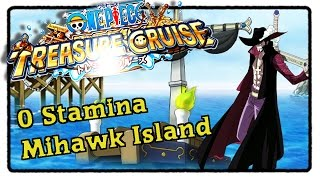getlinkyoutube.com-0 Stamina Mihawk Training Forest (Mihawk/Free to play/No Specials)- OPTC [Deutsch]