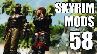 getlinkyoutube.com-Skyrim Mods - Week #58: Skyrim Slavery, Pirates of the Pacific, Demon Werewolf