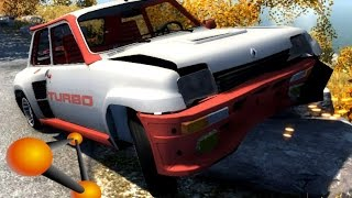getlinkyoutube.com-BeamNG.Drive Mod : Renault 5 Turbo (Crash test)
