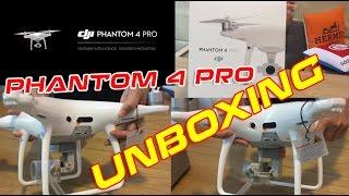 getlinkyoutube.com-PHANTOM 4 PRO UNBOXING & Size Compare with DJI MAVIC PRO
