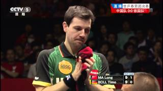 getlinkyoutube.com-2014 WTTTC (MT-Final/CHN-GER/m1) MA Long - BOLL Timo [HD50fps] [Full Match/Chinese]