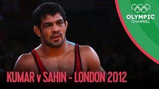 getlinkyoutube.com-Sushil Kumar vs Ramazan Sahin - Freestyle Wrestling 66kg - London 2012 Olympics