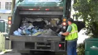 getlinkyoutube.com-waste management McNeilus rear loader