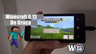 getlinkyoutube.com-Como baixar minecraft 0.13 de graça no Windows Phone 8.1 e 10 sem pc