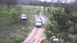 getlinkyoutube.com-Mitsubishi Triton 4x4. Extreme hill climb.