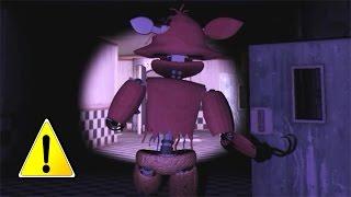 getlinkyoutube.com-AGGRESIVE FOXY ATTACKS!!.. || Overnight 2: Reboot 3D