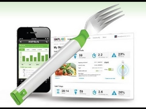 Hapifork, Eat Slowly - Lose Weight - Feel Great