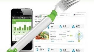 getlinkyoutube.com-Hapifork, Eat Slowly - Lose Weight - Feel Great