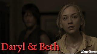 getlinkyoutube.com-Daryl & Beth | See you again | The Walking Dead (Music Video)