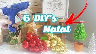 getlinkyoutube.com-6 Diy Natal #3 Decoração De Natal muito fofa   🎅🎄⛄ ft Tv Magzita