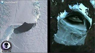 getlinkyoutube.com-Large Saucer UFO Found Buried In Antarctica! 1/13/17