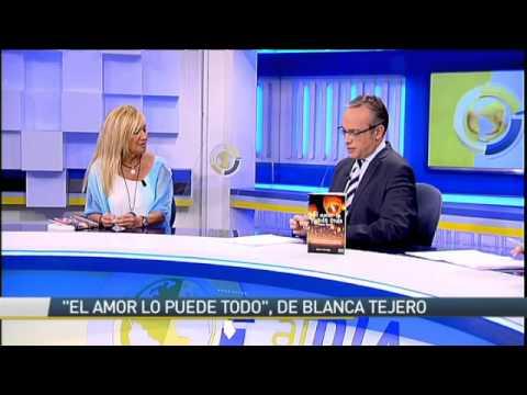 """Entrevista a Blanca Tejero, autora de """"El Amor lo puede todo"""" en 13TV"""