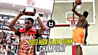 getlinkyoutube.com-Derrick Jones Jr 2017 NBA Slam Dunk Contest Winner!? He Hasn't Lost a Dunk Contest YET