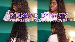 getlinkyoutube.com-Diamond Dynasty Eurasian Natural Wave Review+How I Style It!