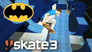 getlinkyoutube.com-SKATE 3: MEGA PISTA do BATMAN! (Skate Share Pack) - #54