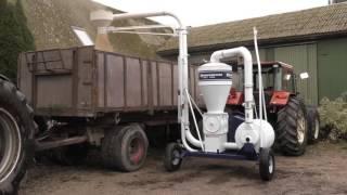 getlinkyoutube.com-Kongskilde Tractor Driven Suction Blower