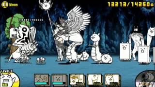 getlinkyoutube.com-Battle Cats, Chapter 3 moon