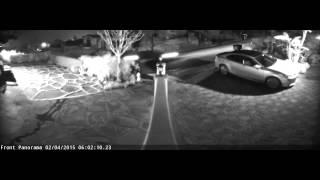 getlinkyoutube.com-Axis M3027-PVE Panoramic IP Camera Night Time shot (IR Illuminator)