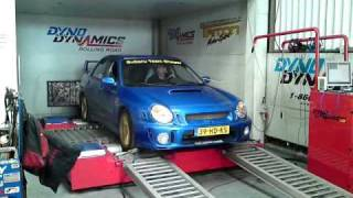 Shaggy's Subaru Impreza on the Dyno by
