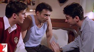 Scene - Mohabbatein | Kismat Mein Milna Likha Hai | Uday Chopra | Jugal Hansraj | Jimmy Shergill