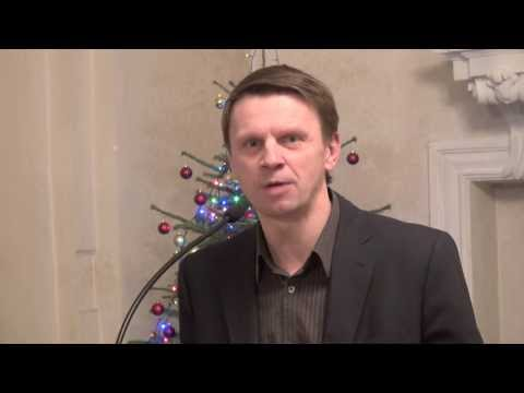 Rolandas Kazlas skaito Kristijoną Donelaitį