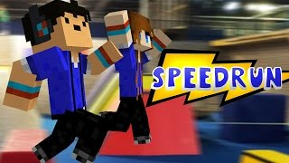 getlinkyoutube.com-Minecraft Paaahhkkouurr! - Woodycraft Speedrun