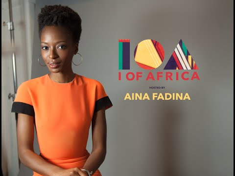 'I of Africa' Presents Founder of series Aina Fadina @aina_fadina