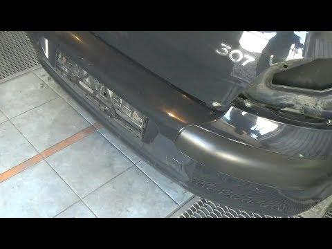 Как снять задний бампер. Peugeot 307.