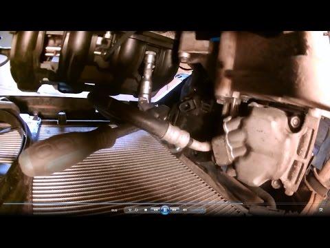 Лада Калина, Приора. Как снять впускной коллектор без снятия двигателя на 126 моторе (16 клапанов)