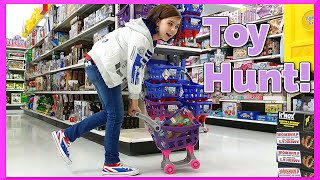getlinkyoutube.com-Toy Shopping Hunt - My Little Pony, Avengers, Pokemon, Shopkins, Disney and More
